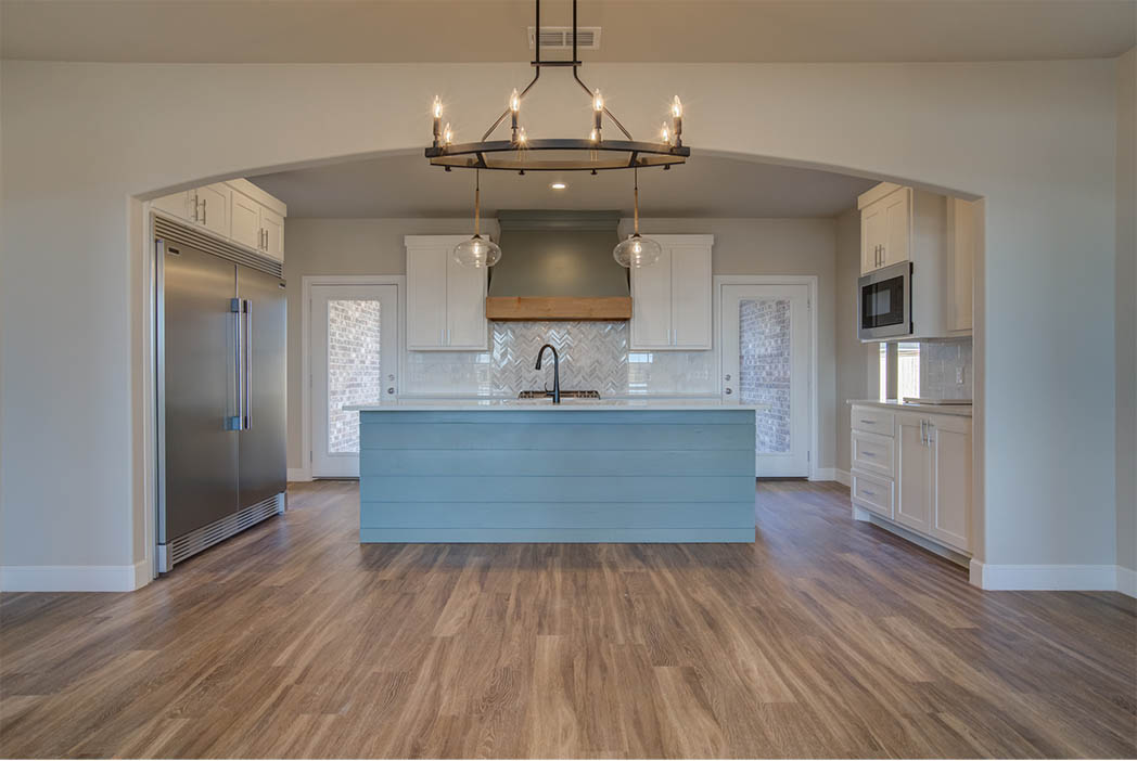 Beautiful kitchen in Lubbock, Texas home for sale.