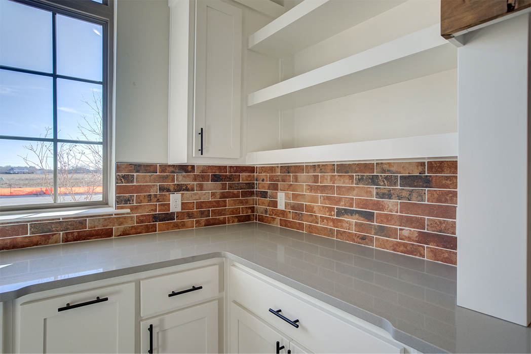 Detail of beautiful kitchen in Lubbock, Texas home for sale.