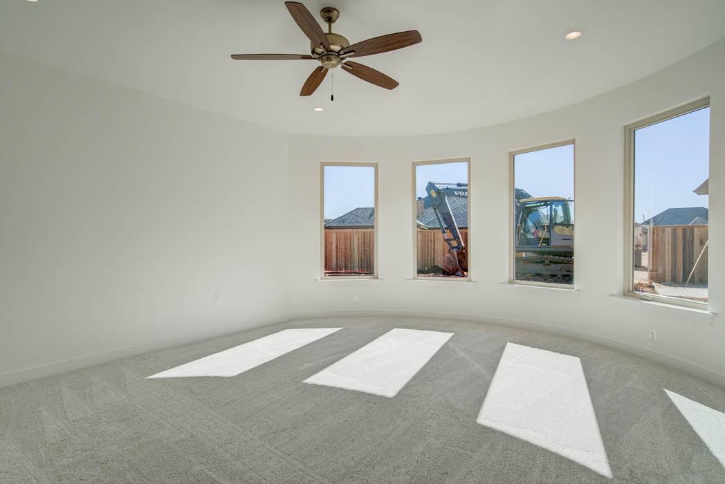 Beautiful bedroom in Lubbock, Texas home.