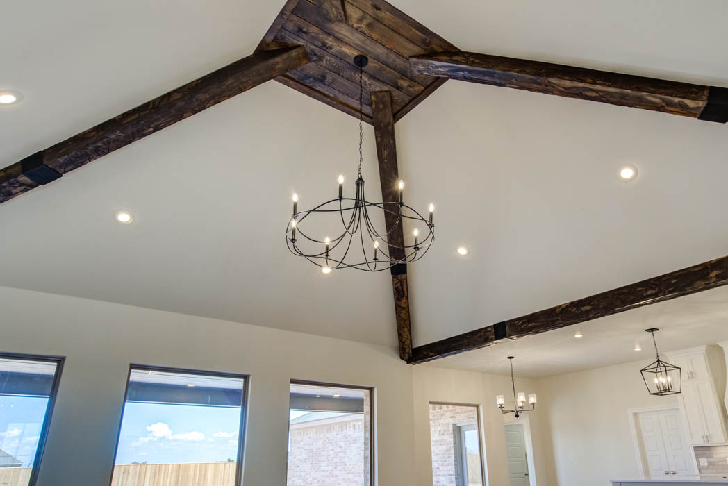 Ceiling in beautiful new home in the Lubbock, Texas area.