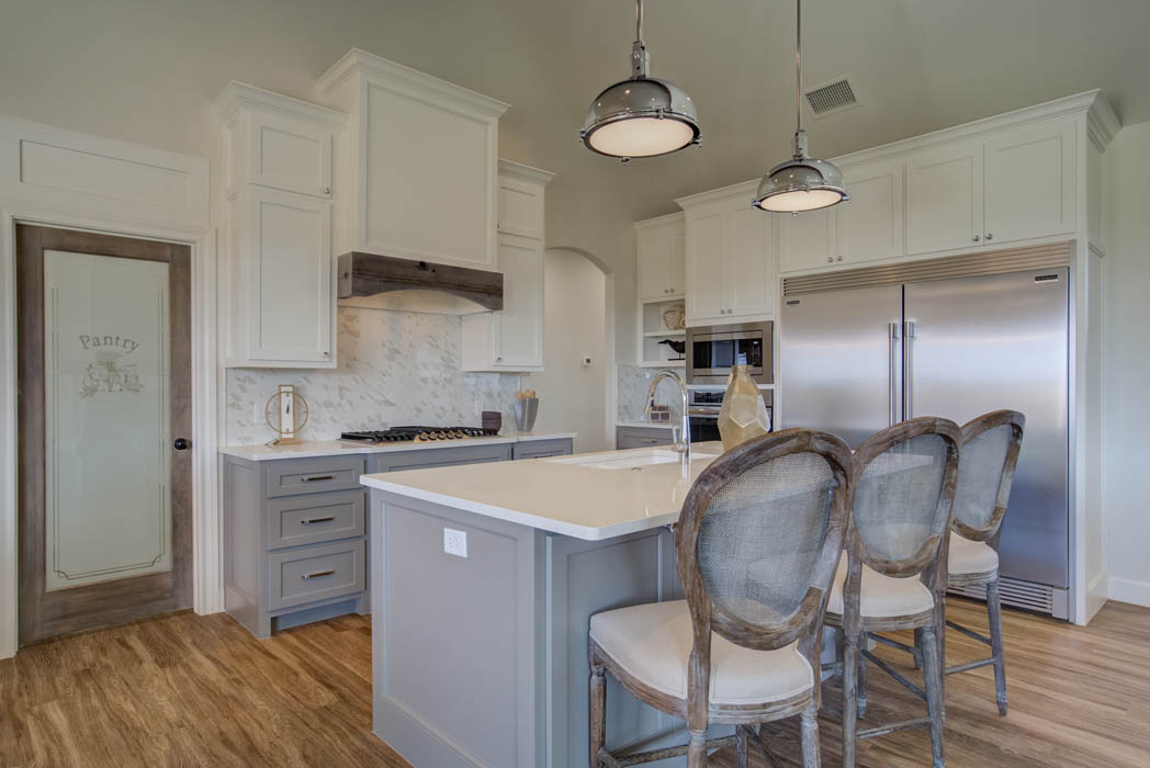 Lovely kitchen area in home for sale in Lubbock.
