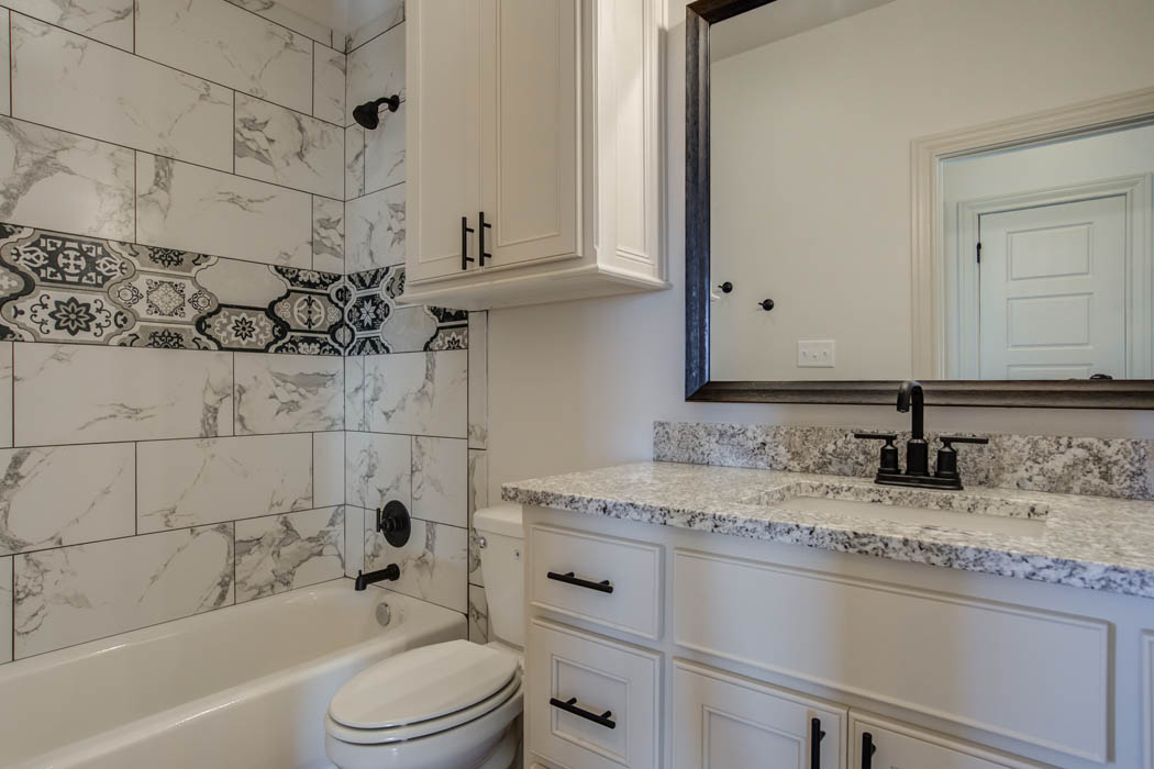 Beautiful bathroom in Lubbock, Texas home for sale.
