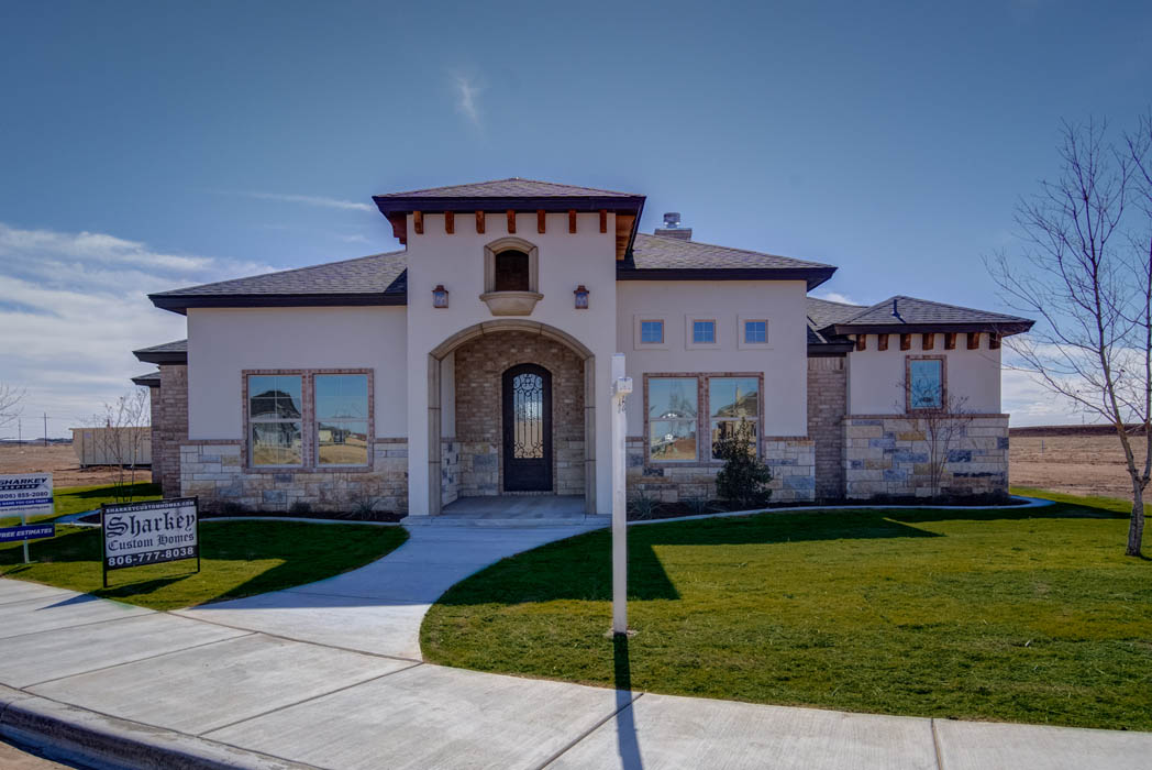 Beautiful custom home by Sharkey Custom Homes.