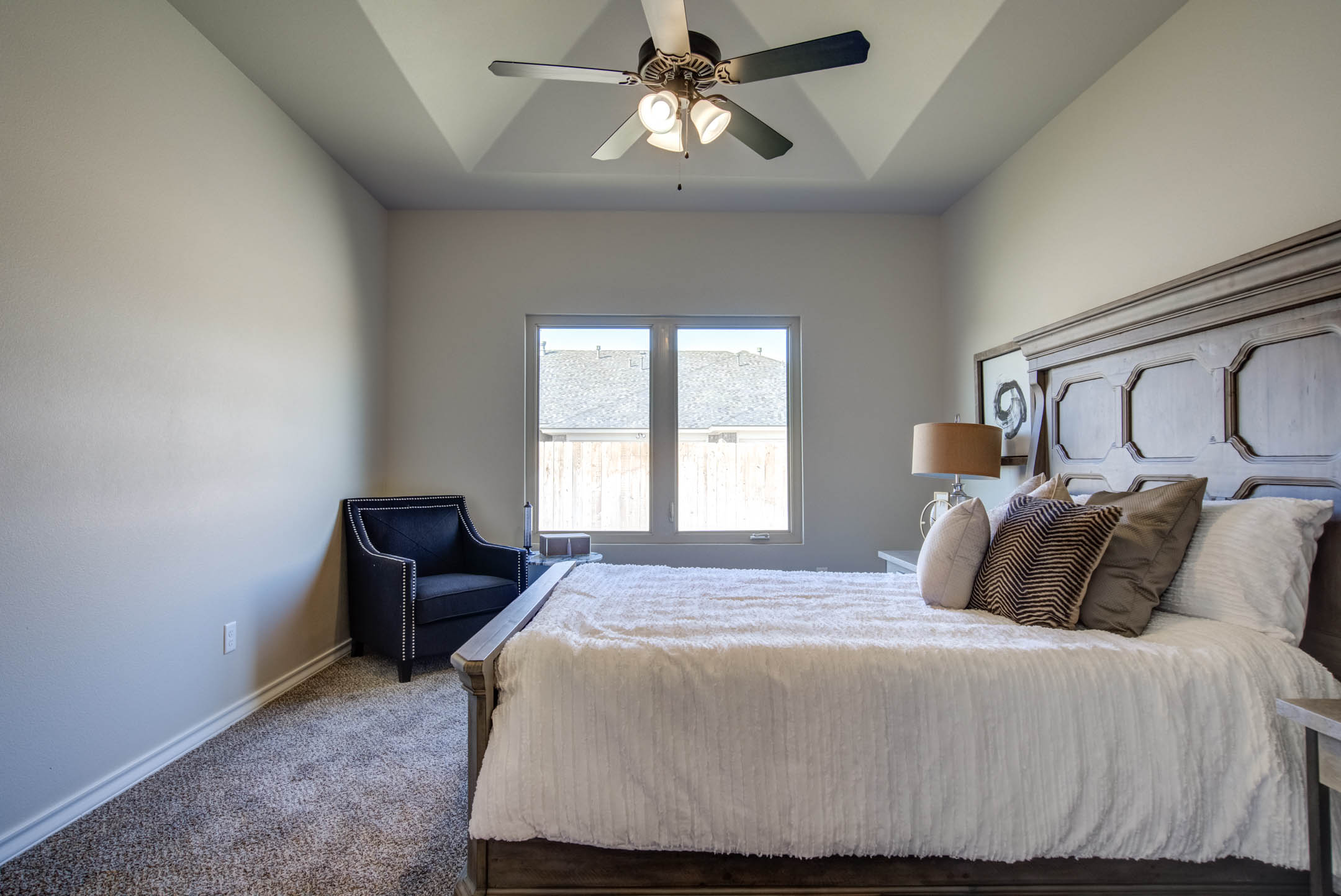 Master bedroom in new home for sale.