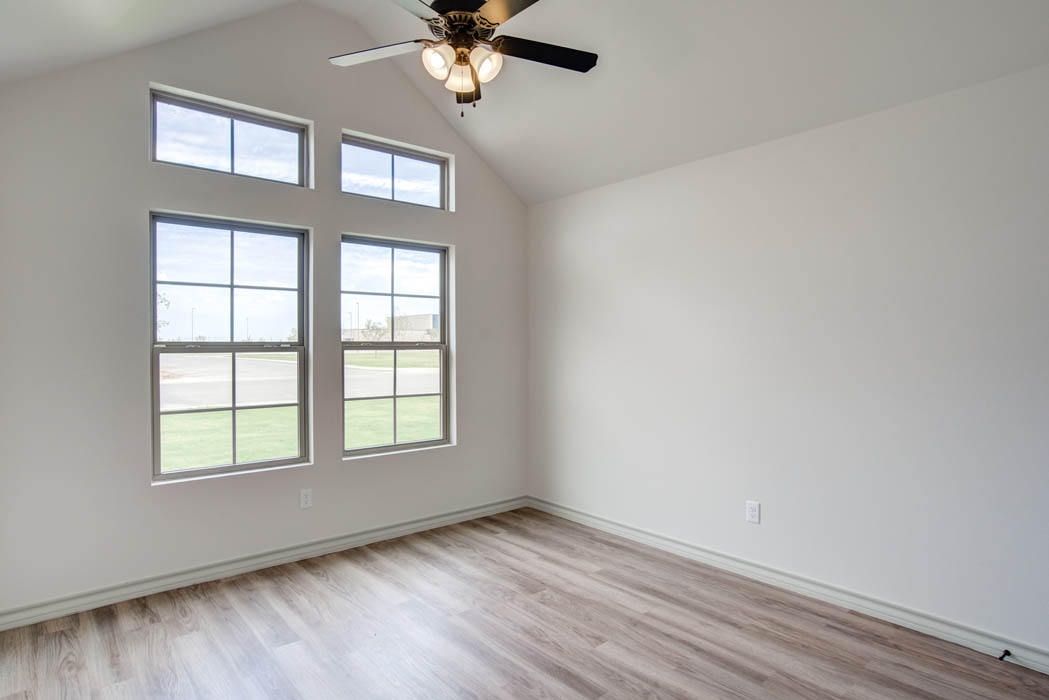 Guest bedroom or office in beautiful new home for sale in Lubbock.