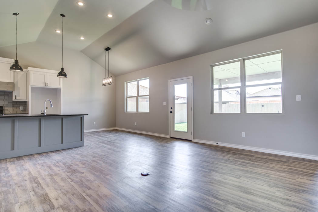 Beautiful open concept living in home for sale in Lubbock.