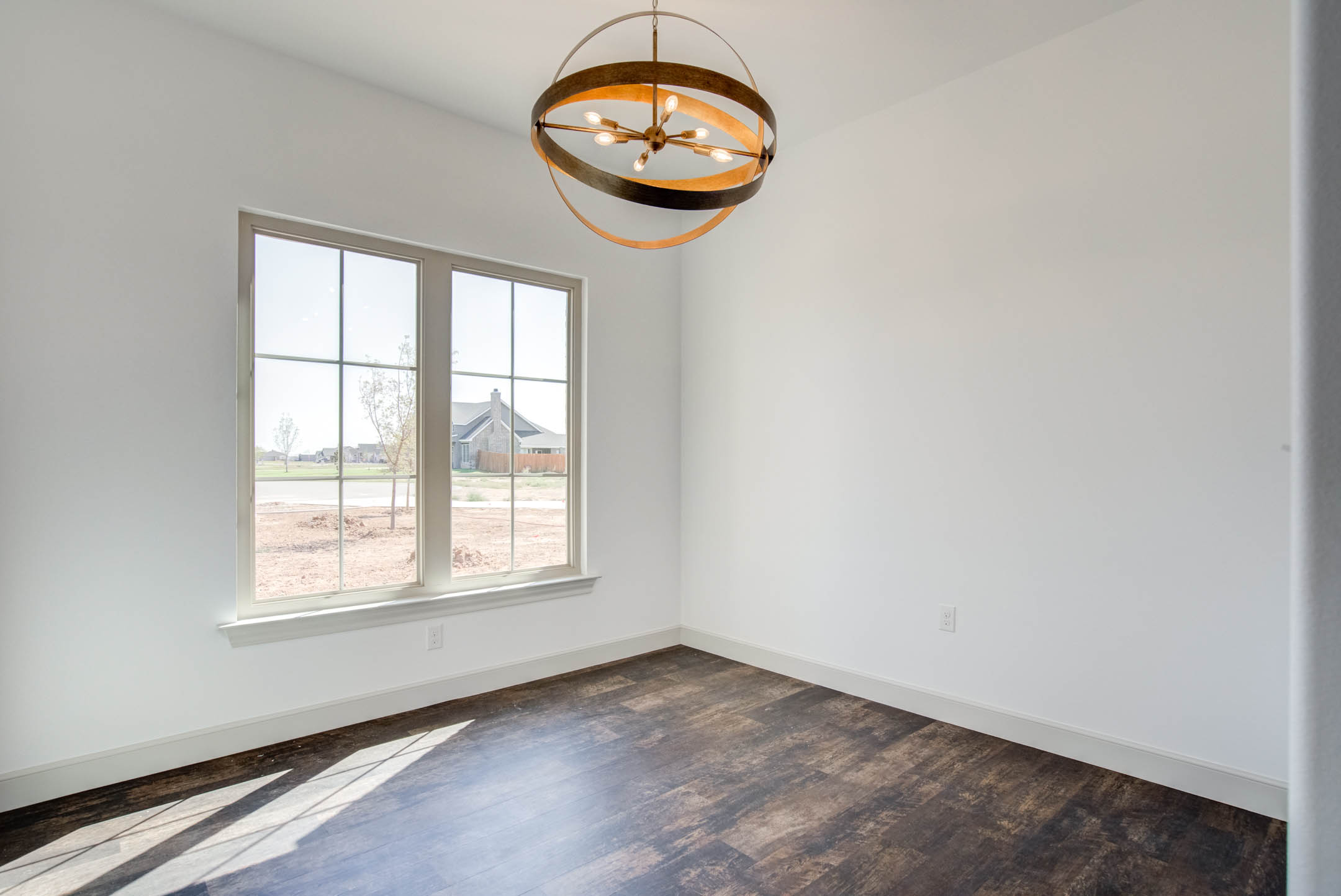 Dining area in new Lubbock area home.