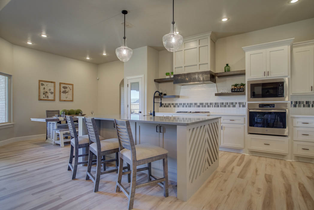 Kitchen in new beautiful new West Texas home.