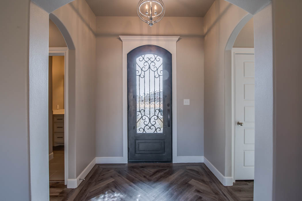 Entry in custom home - 1