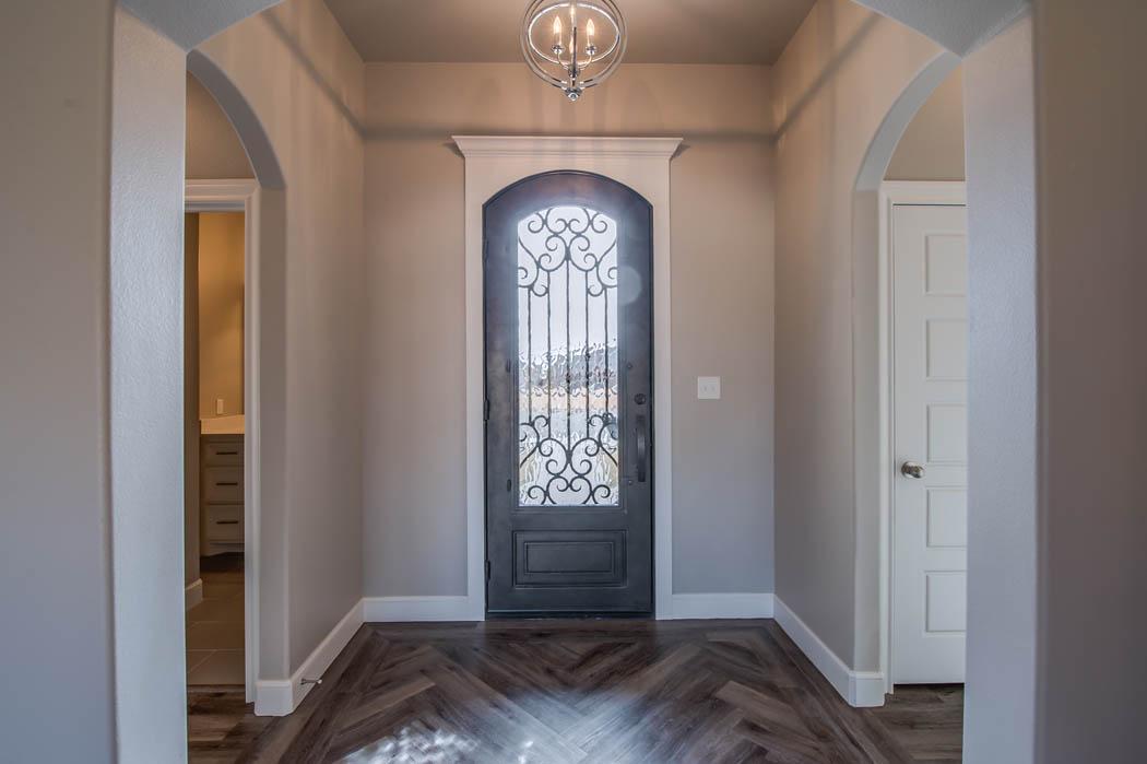 Entry in custom home - 1