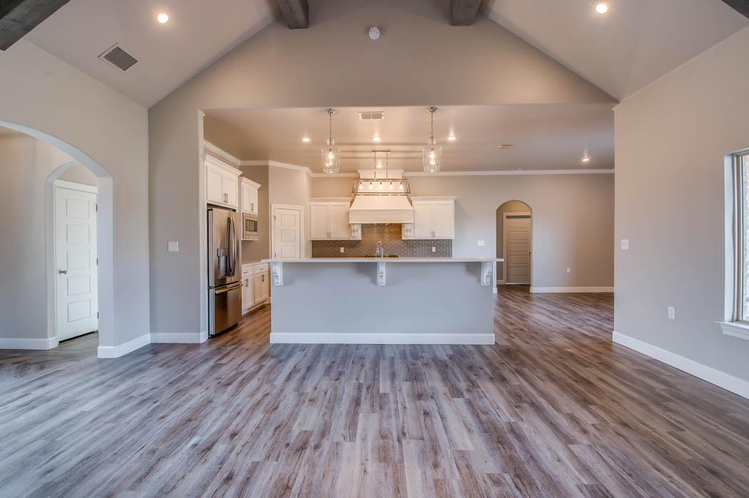 Custom home kitchen - 1