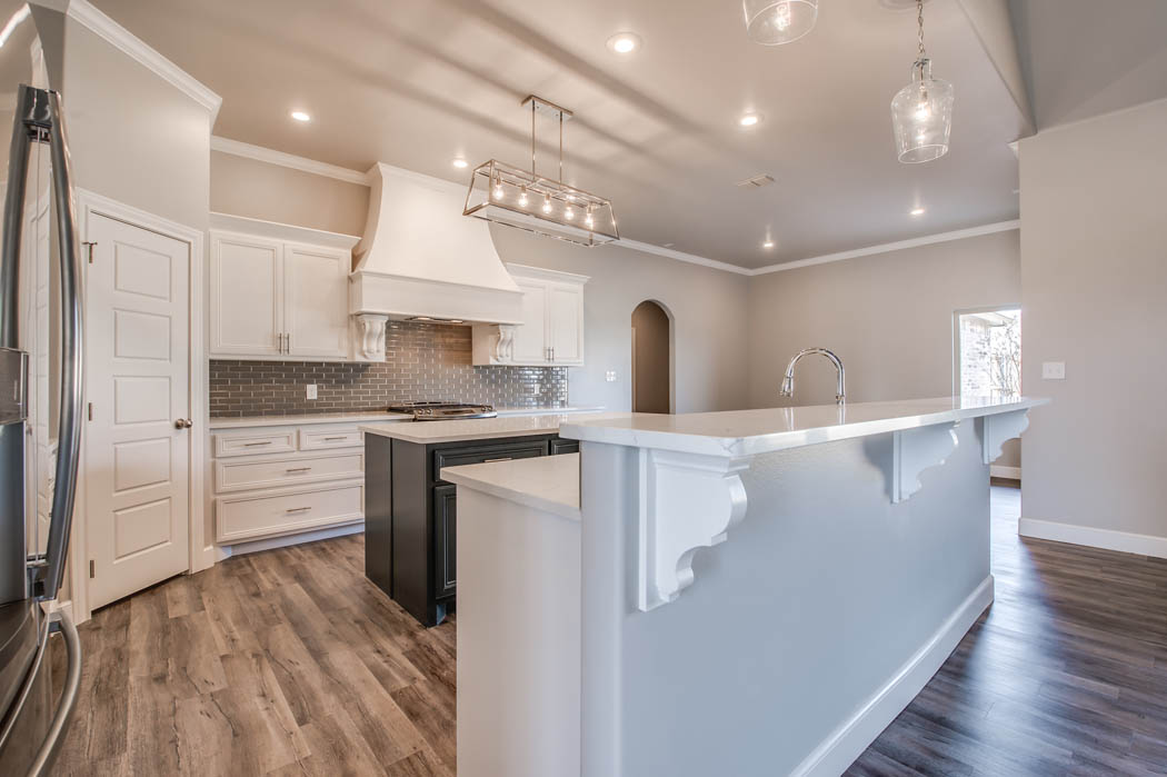 Custom home kitchen - 2