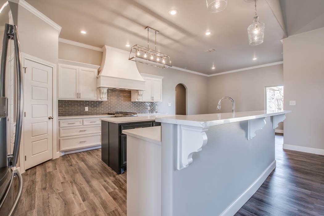 Custom home kitchen - 2