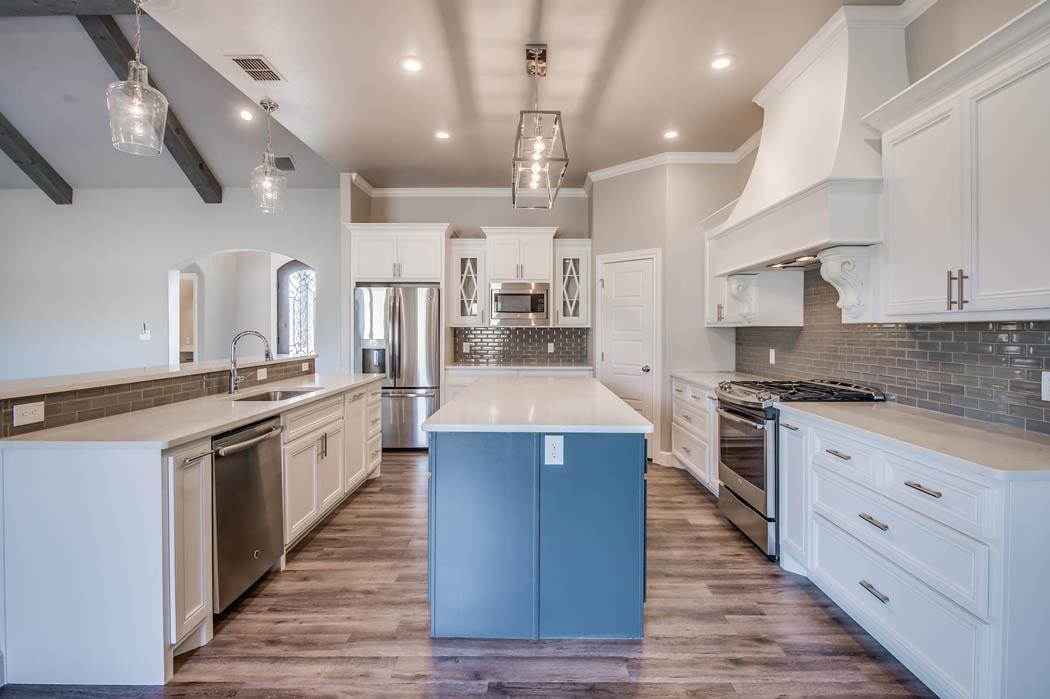 Beautiful custom home kitchen by Sharkey Custom Homes.