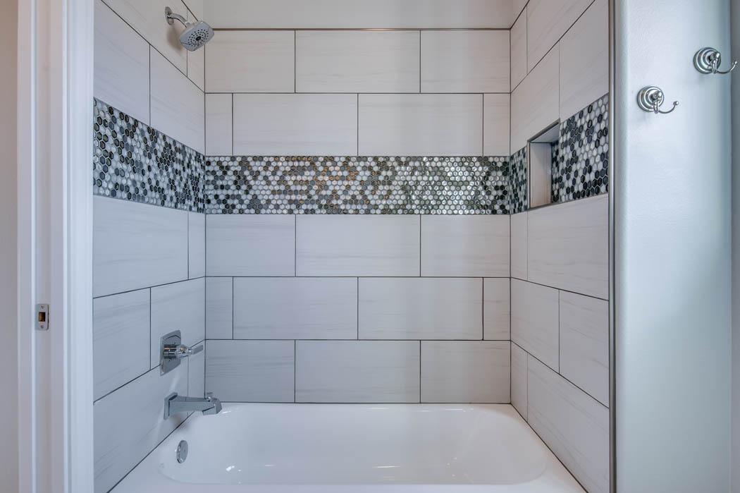 Bath in custom home 1