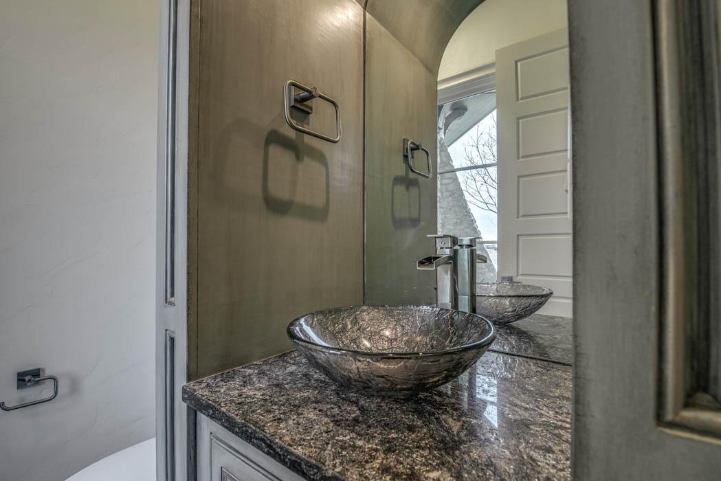 Beautiful Master Bath in Custom Home For Sale by Sharkey Custom Homes