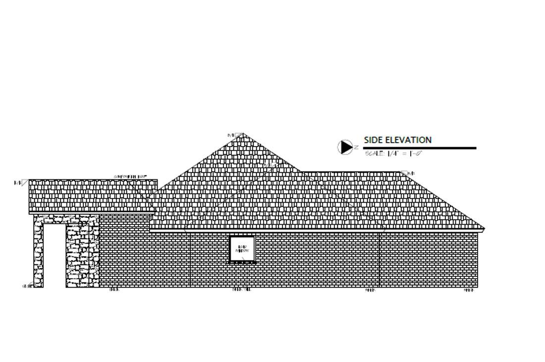 Diagrams of custom home in Eastwick at Kelsey Park in Lubbock, Texas