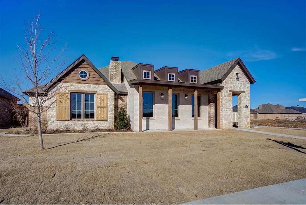 Lubbock home by Sharkey Custom Homes showing a stylish exterior.
