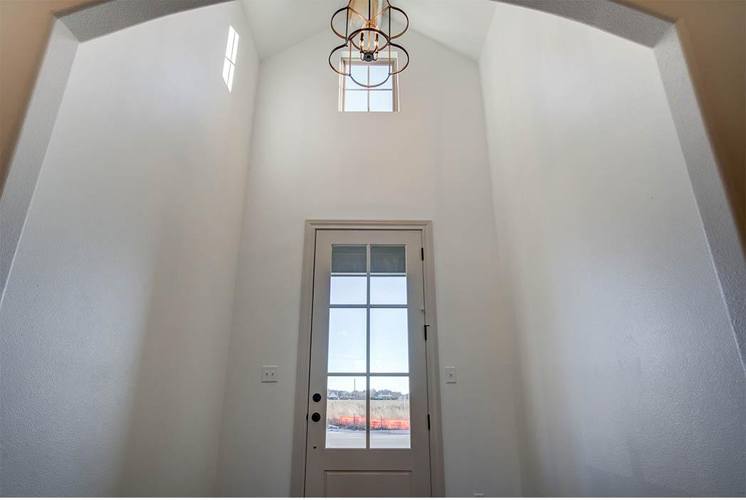Entry of beautiful house for sale in Lubbock, Texas.