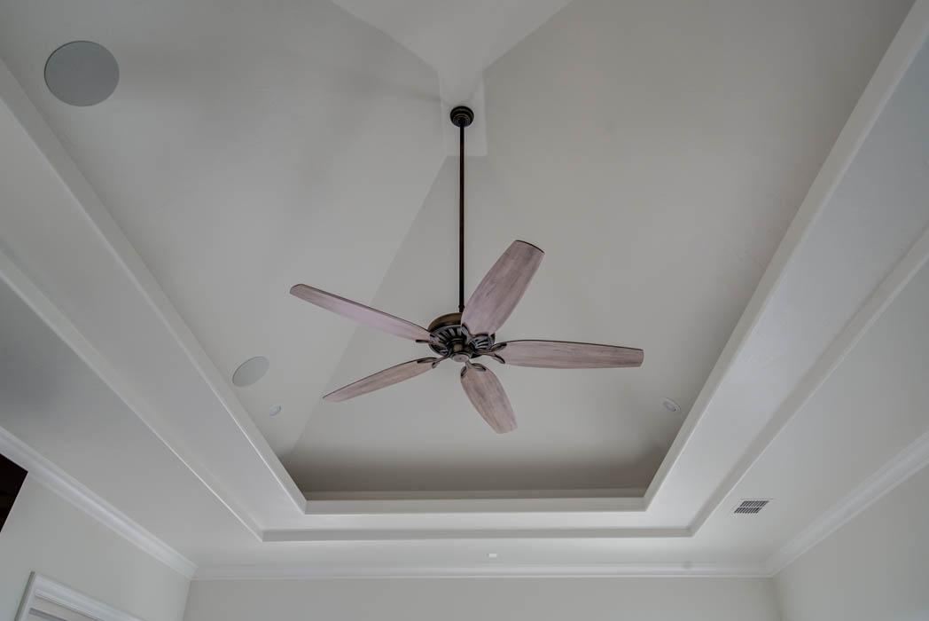 Amazing ceiling treatment in Lubbock, Texas home.