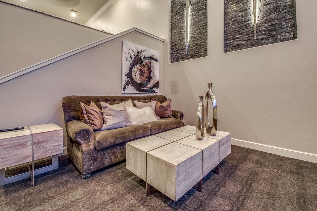 Great home theatre for family fun in the Lubbock, Texas area.
