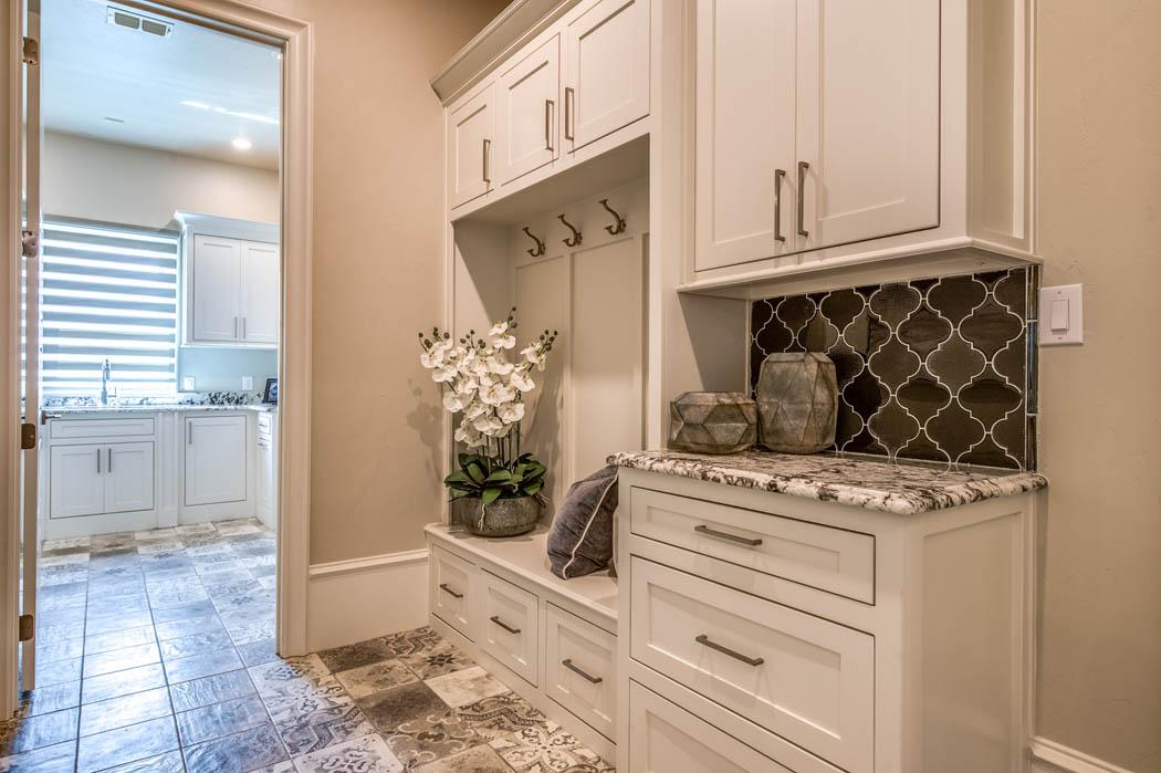 Photograph of great laundry area in Lubbock, Texas home.