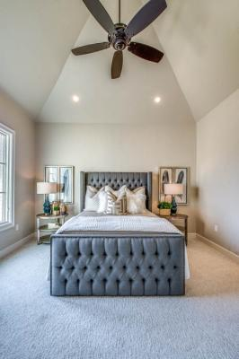 Beautiful bedroom in Lubbock, Texas home.