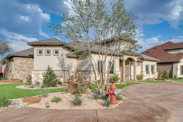 Photo of high-quality home built by Sharkey Custom Homes in the Lubbock area.